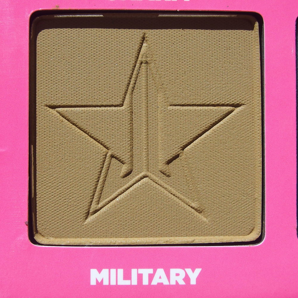 Close up of Military from the Jeffree Star Androgyny Palette