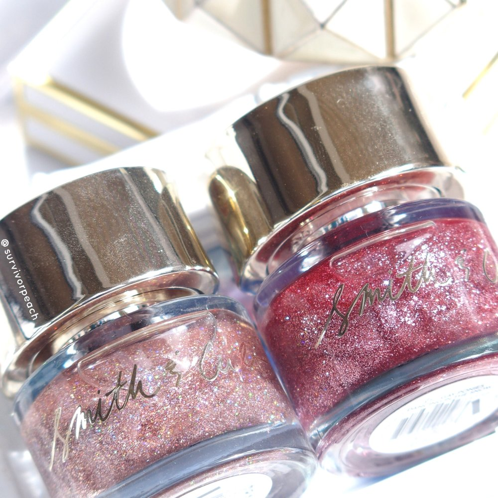 Smith & Cult Nail Polish in shades Take Fountain and Gay Ponies Dancing in the Snow