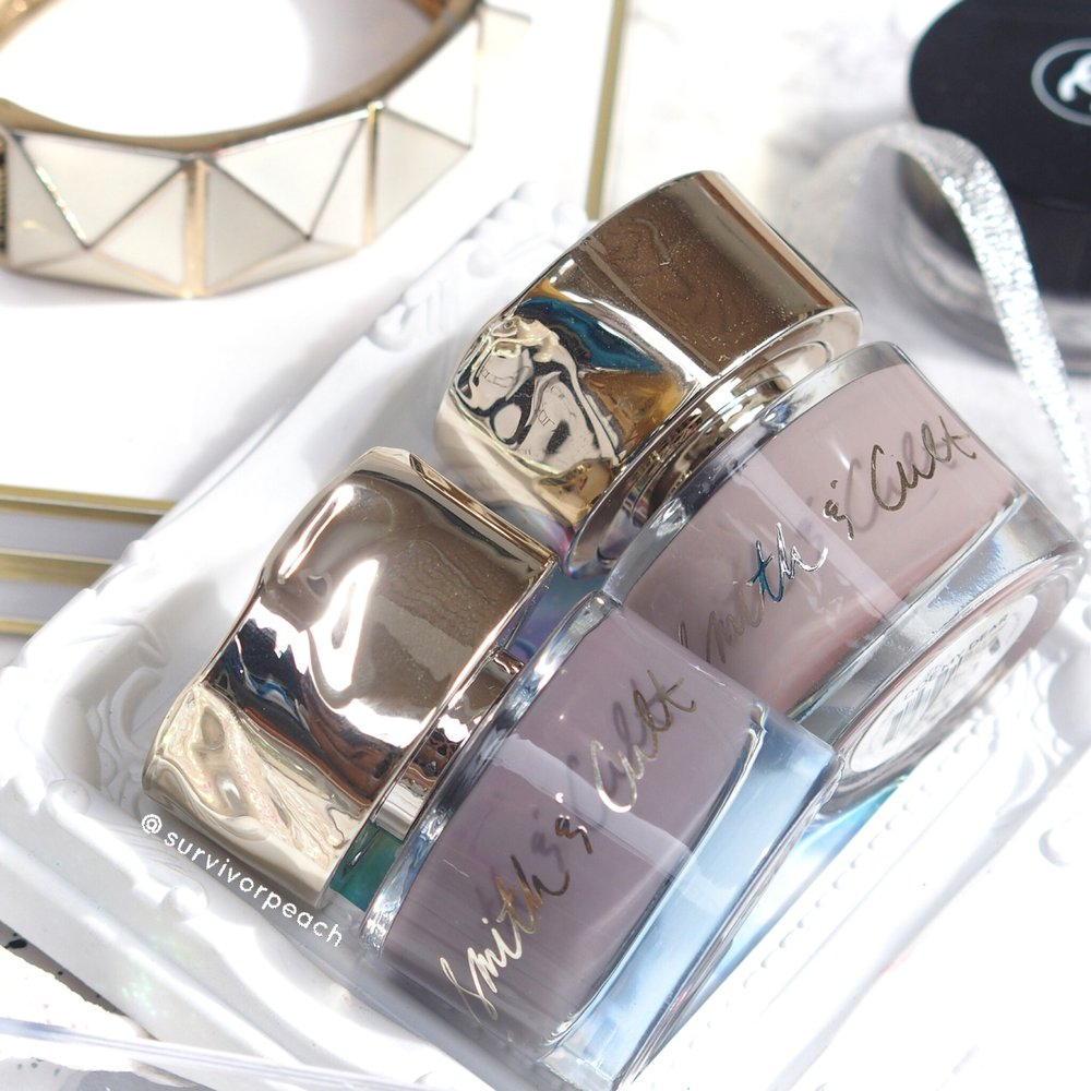 Smith & Cult Nail Polish in shades Subnormal and Doe My Dear