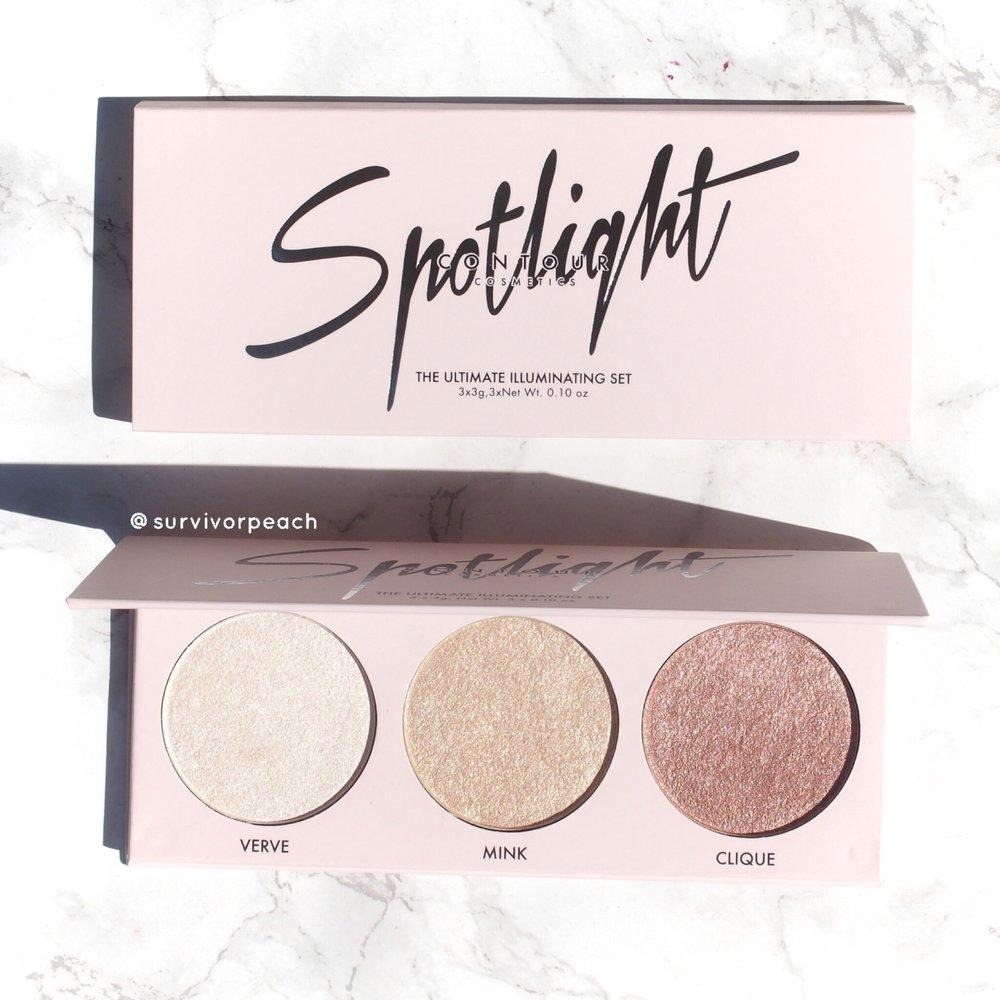 Contour Cosmetics Spotlight palette