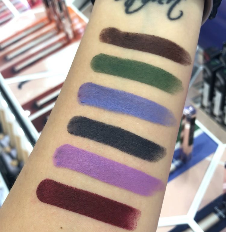 Fenty Beauty Mattemoiselle Lipsticks swatches  8.        Griselda  9.        Midnight Wasabi  10.     Ya Dig?  11.     Clapback  12.     PMS  13.     One of the Boys