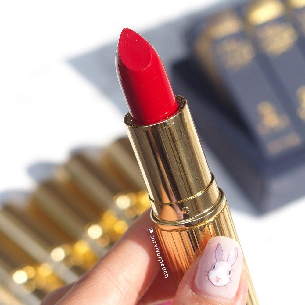 Dash Cosmetics Vintage Moisture Lipstick - Victoria Red