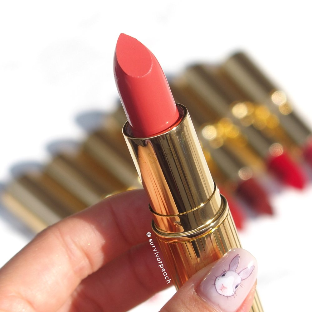 Dash Cosmetics Vintage Moisture Lipstick -Youthful Coral