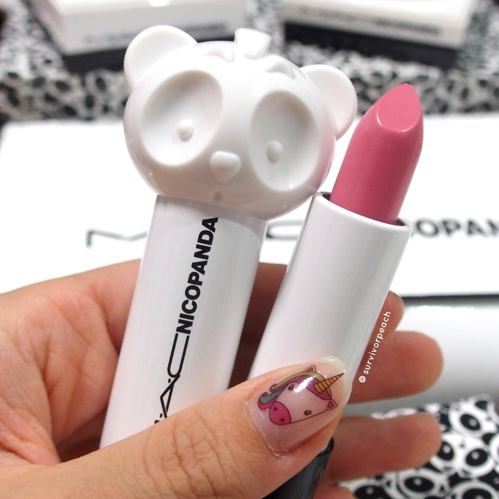 Mac Nicopanda Lipstick Pink Off