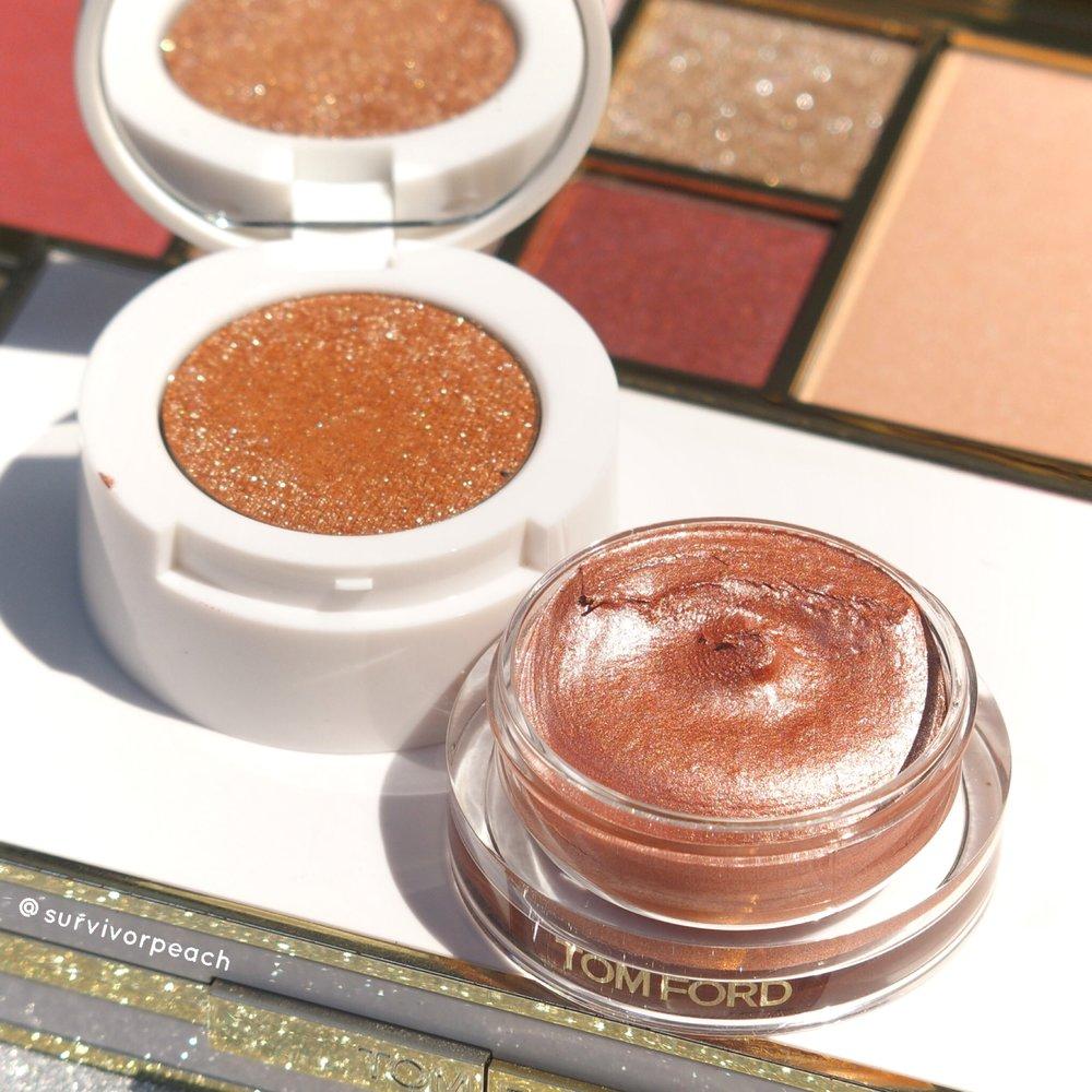Tomford Cream to Powder eyeshadow duo in shade Golden Peach