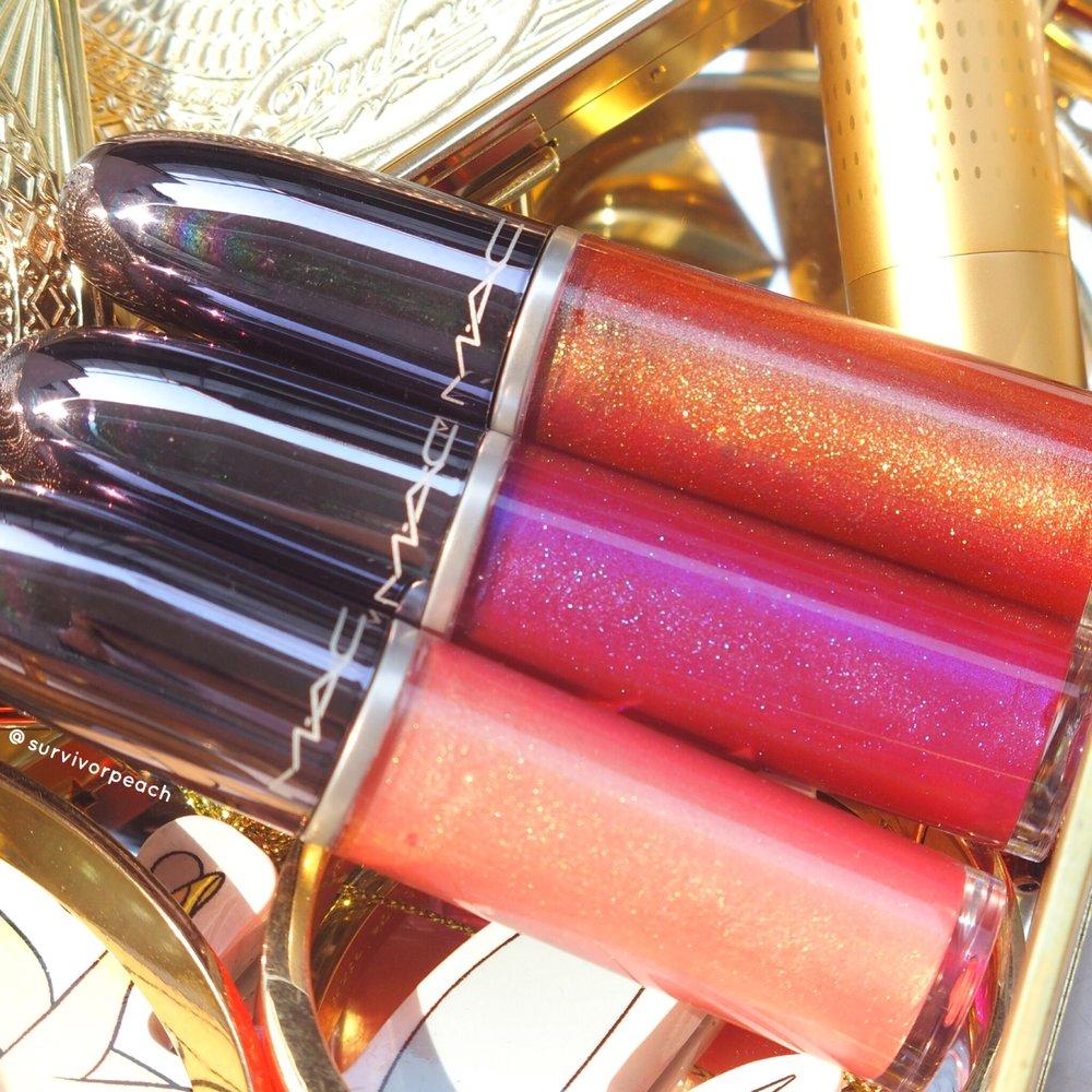 Mac Grand Illusion lipsticks
