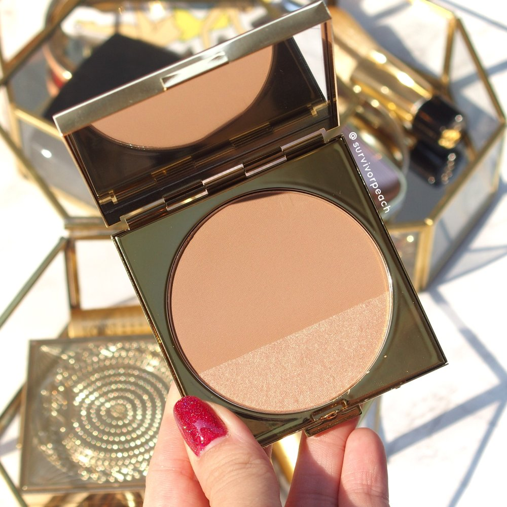 MACxPadma collection powder blush duo Moon&Shine