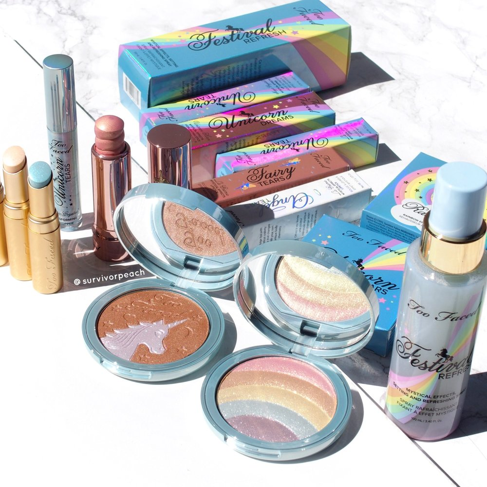 Toofaced Life's a Festival Collection