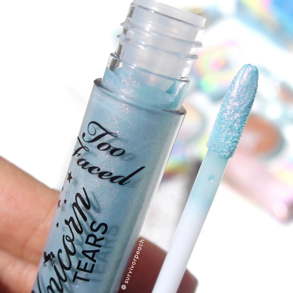 Toofaced Magic Crystal Mystical Effects Lip Topper Unicorn Tears