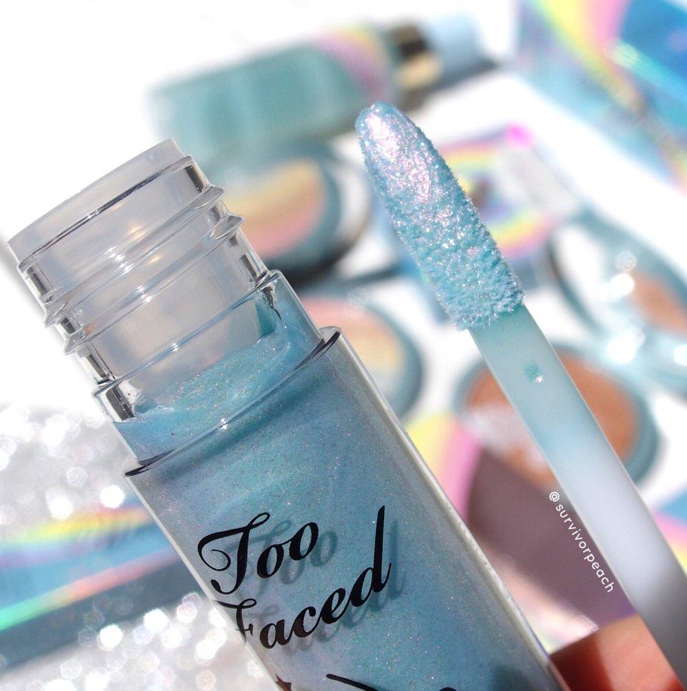 Toofaced Magic Crystal Mystical Effects Lip Topper Unicorn Tears