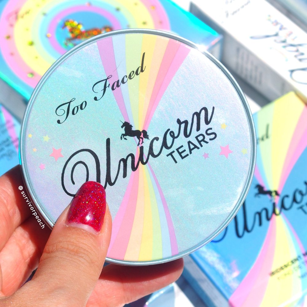 Toofaced Unicorn Tears Iridescent Mystical Bronzer