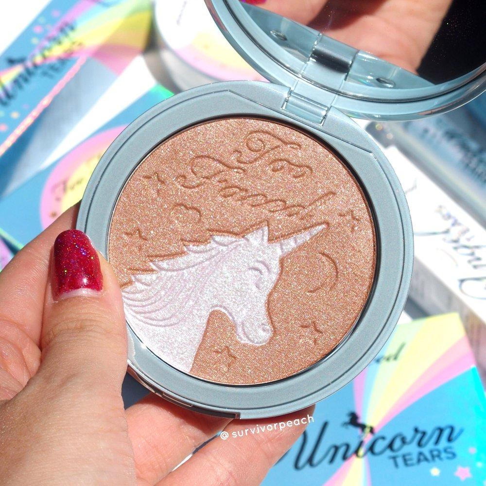 Toofaced Unicorn Tears Iridescent Mystical Bronzer