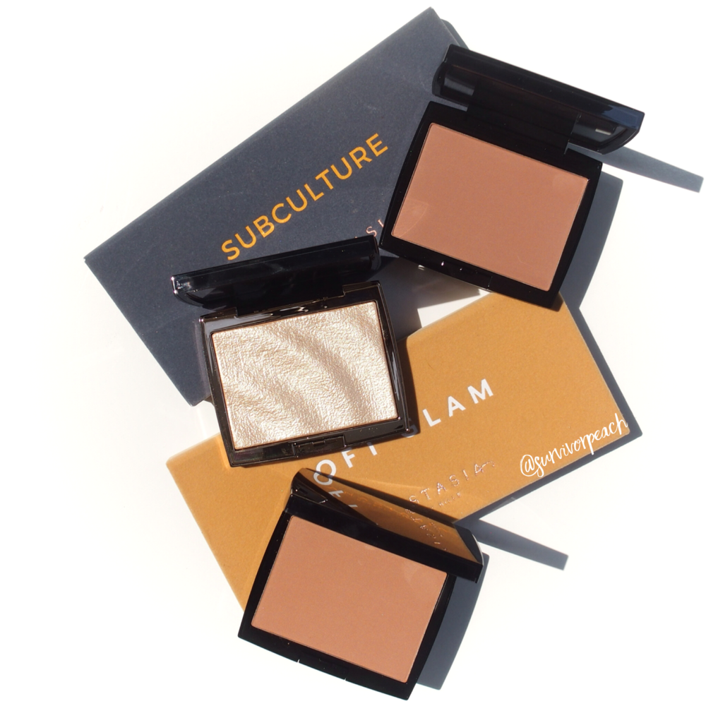 Anastasia Beverlyhills Amzery Highlighter and Matte Bronzers
