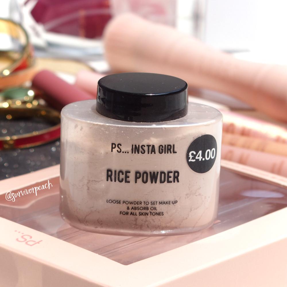 Primark PS Insta Girl Rice Powder