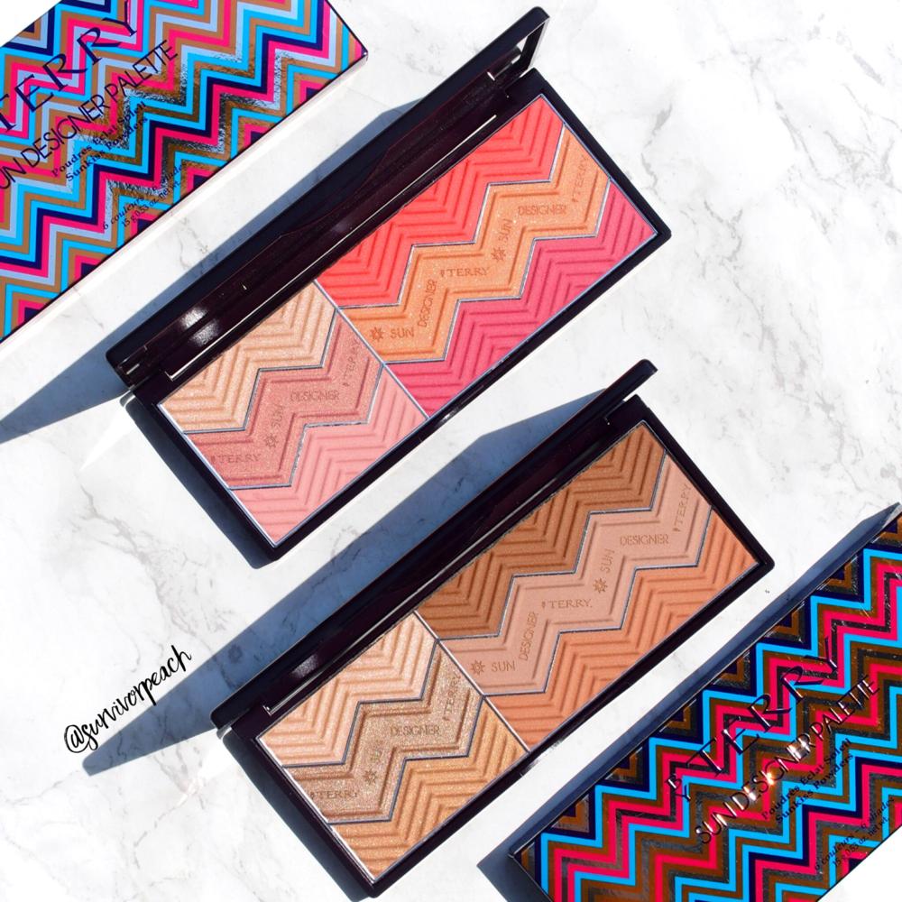 ByTerry Sun Designer palettes 2018