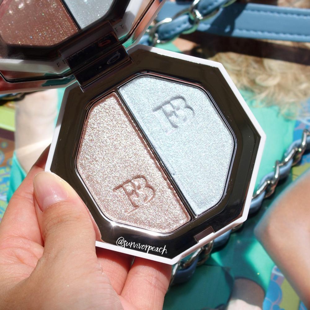 Fenty Beauty Killawatt Foil HIghlighter Duo Sand Castle/Mint'd Mojito