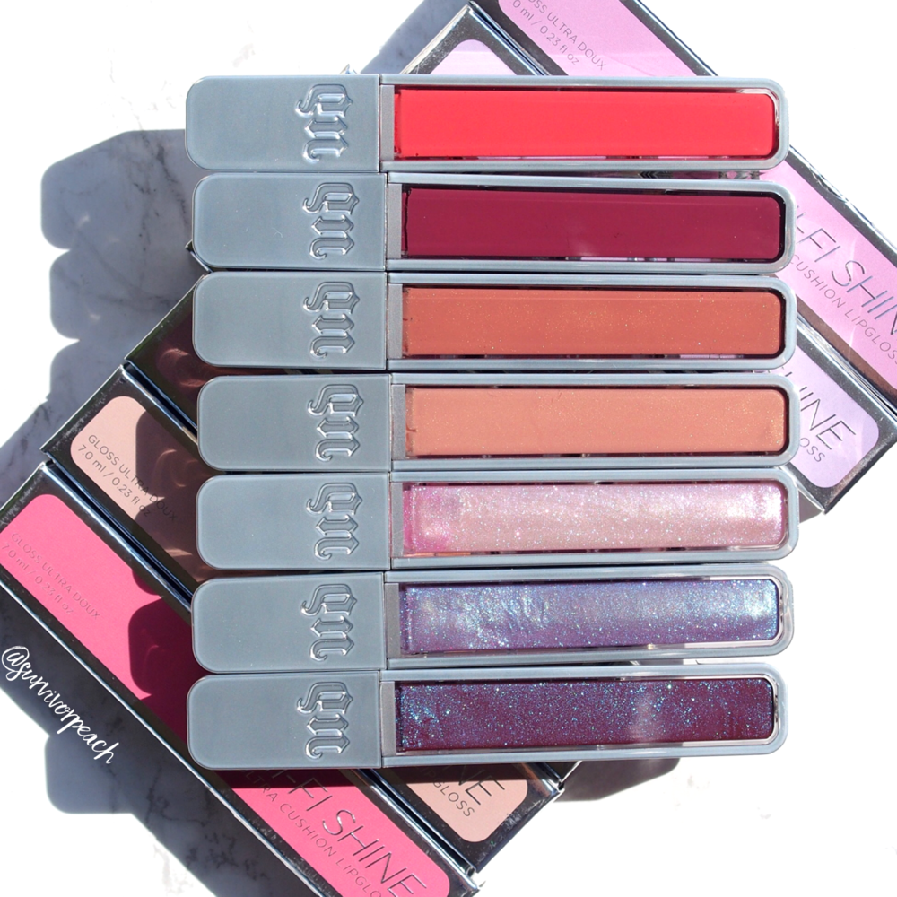 Urban Decay Hi Fi Shine Ultra Cushion Lipglosses