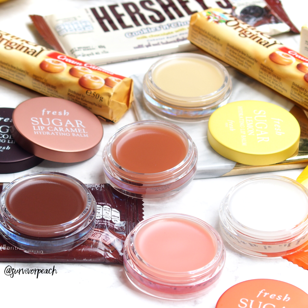 Fresh Sugar Hydrating Lip Balms
