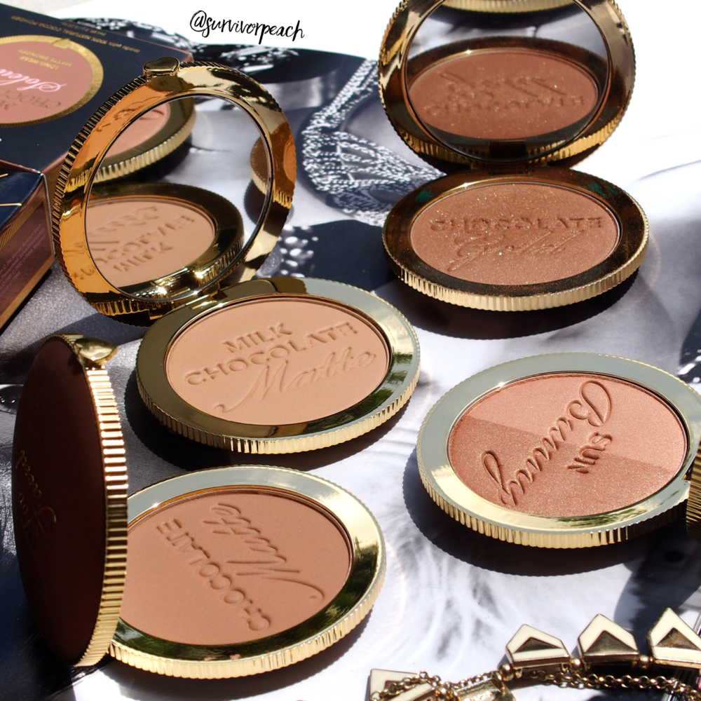 Toofaced Chocolate Soleil bronzers