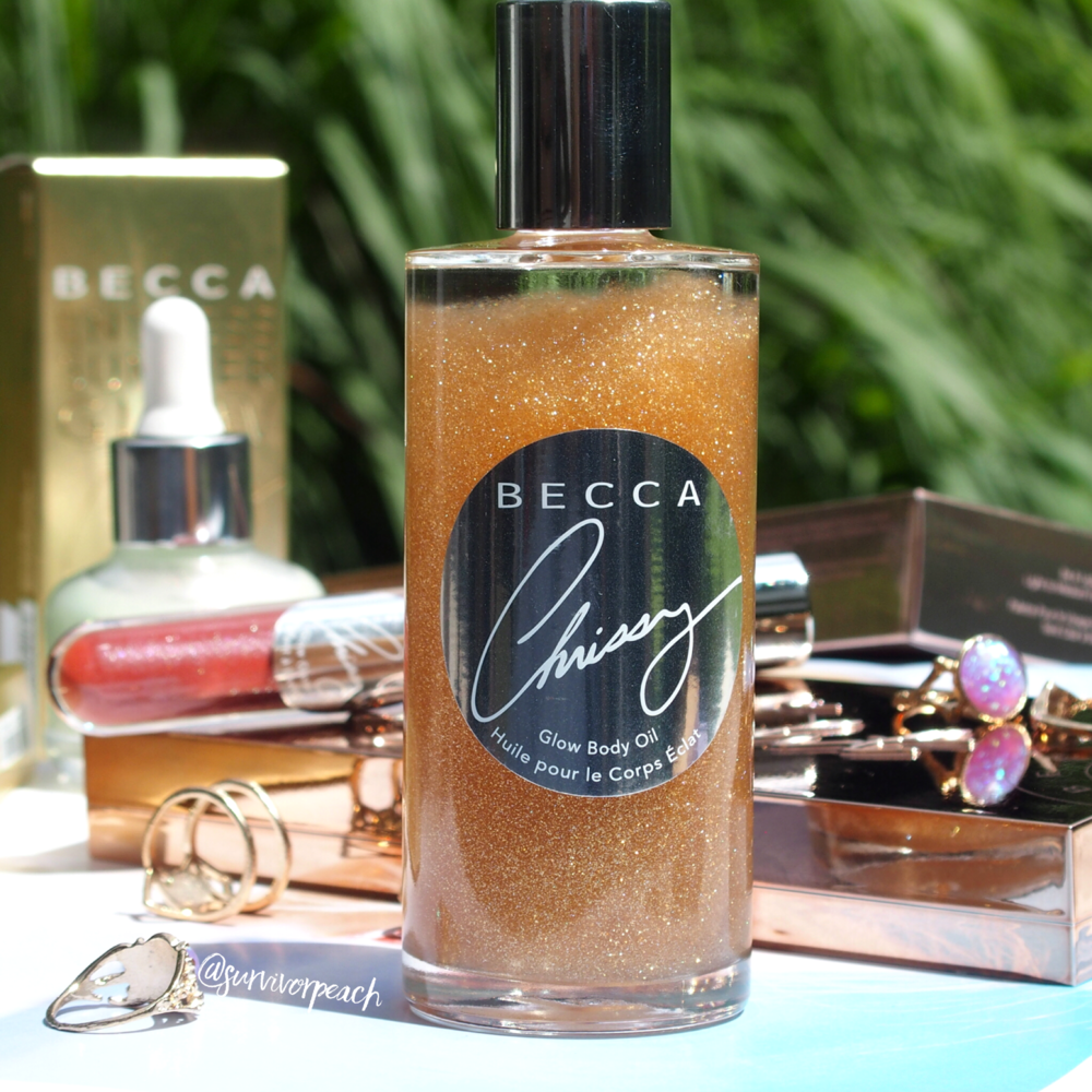 The Becca x Crissy Taigen Glow Body Oil