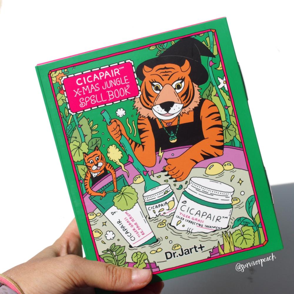 Cicapair X Mas Jungle Spell Book Set.