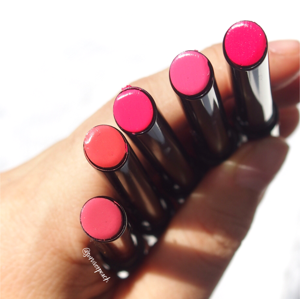 Hourglass Confession Lipsticks in shades My Favourite, You Can Find Me, I Always, I Believe, I Can't Wait