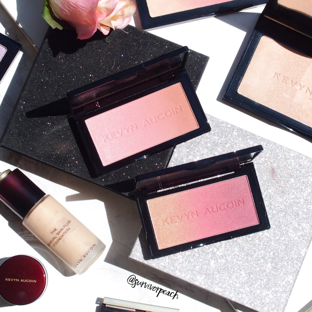Kevyn Aucion Neo-Blushs from in Pink Sand and Rose Pink