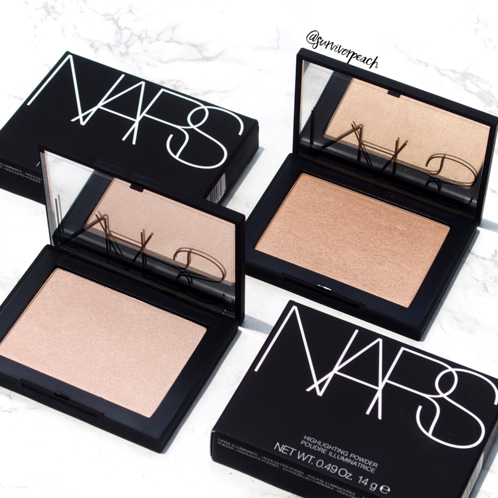 Nars Highlighting Powder in Capri and Ford De France