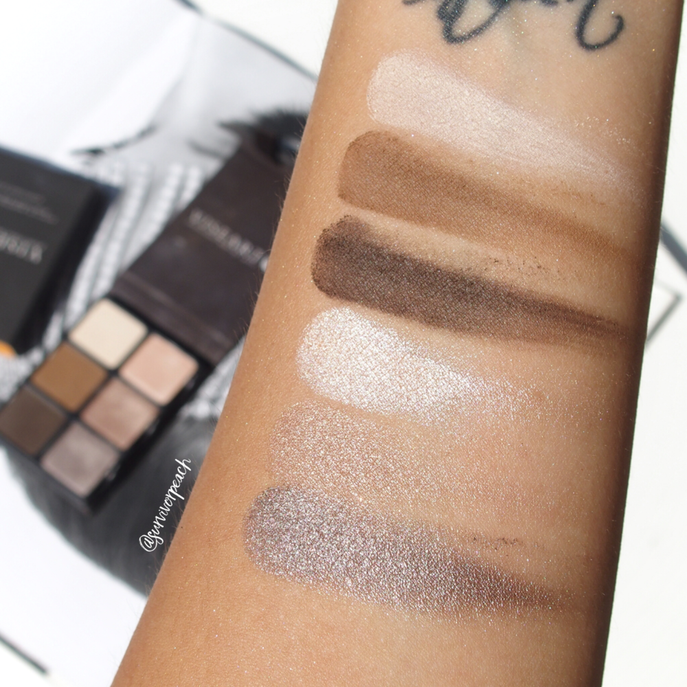 Swatches of the Viseart Theory I Cashmere palette