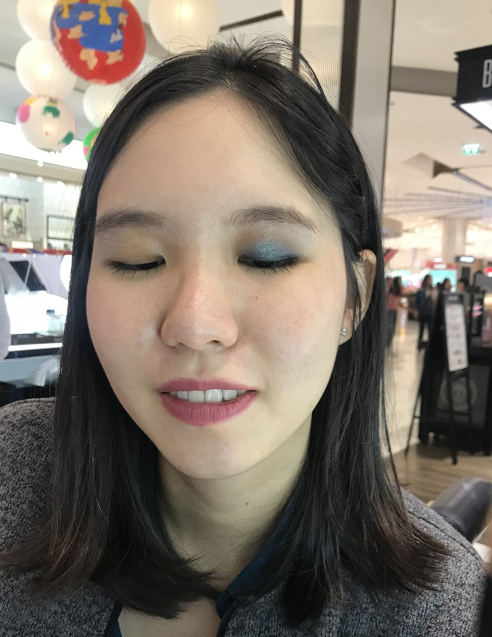 Another photo of me wearing Tom Ford Eye Quad in 24 Photosynthesex