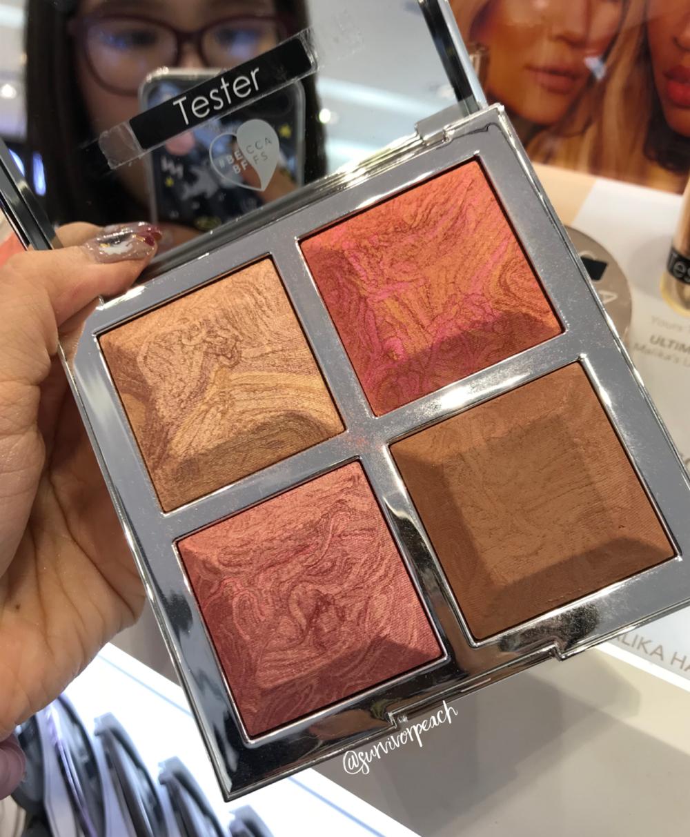 BECCA x Khloé Kardashian & Malika Haqq Bronze, Blush & Glow Palette in  Made With Love By Malika