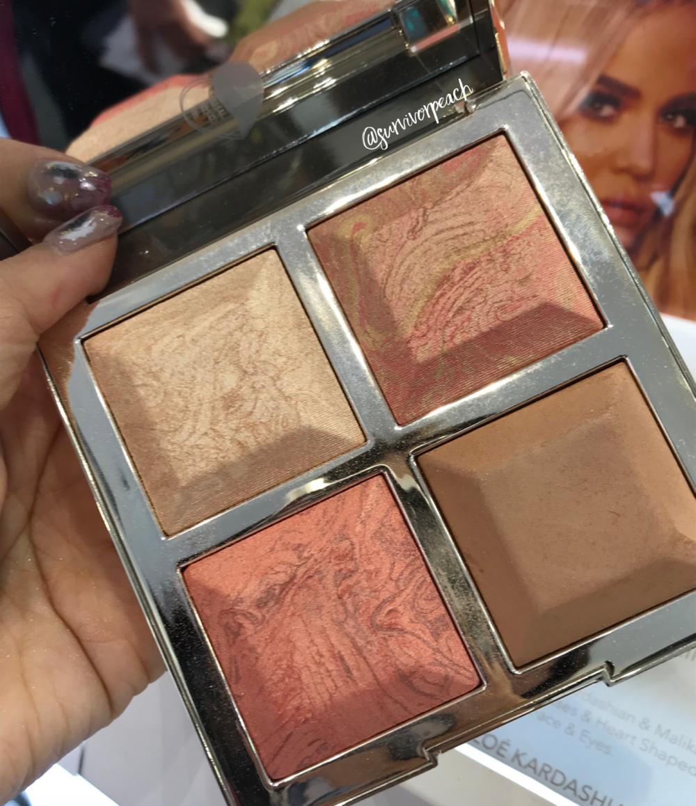 BECCA x Khloé Kardashian & Malika Haqq Bronze, Blush & Glow Palette in  Made With Love By Khloé  .
