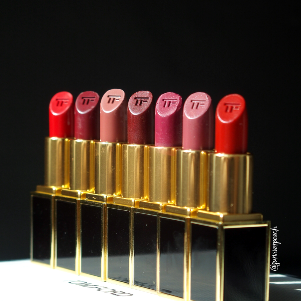Tom Ford Lips and Boys in Dylan, Nicholas, Christopher, Inigo, Jack, Mitchell, and Warren