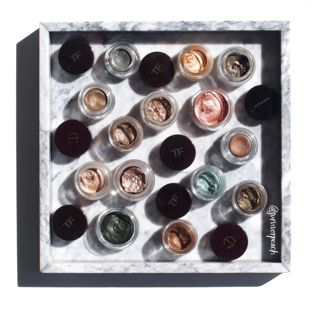 My cream eyeshadow collection