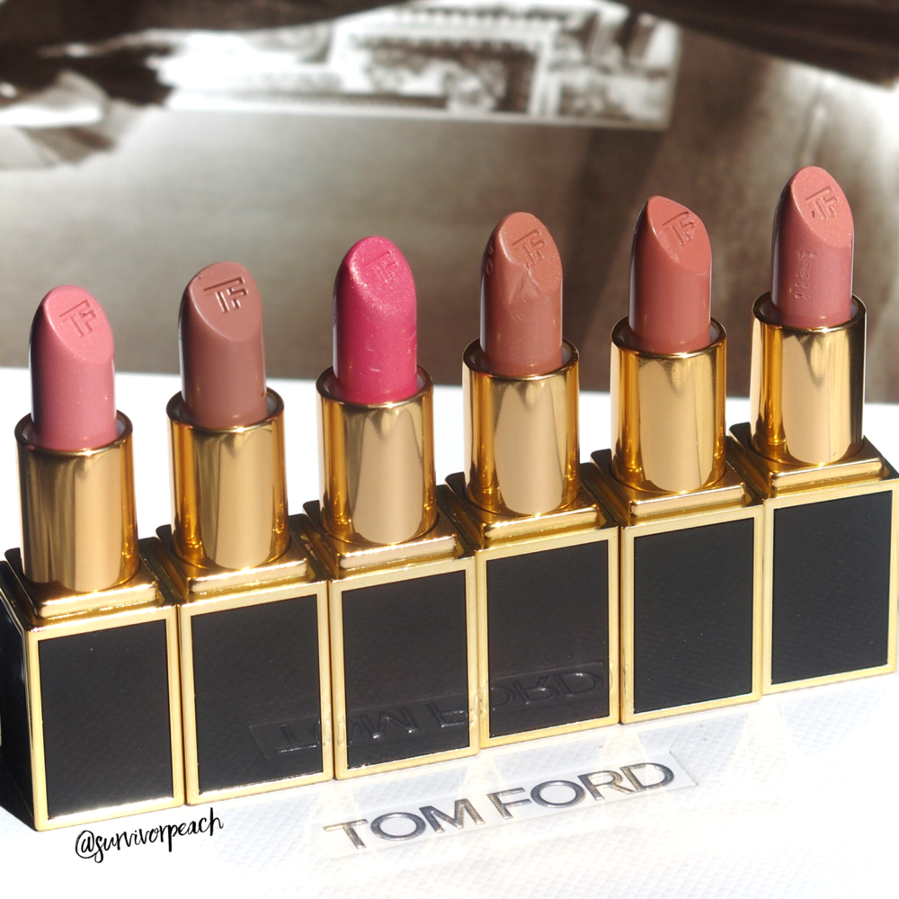 Tom Ford Lips and Boys in Flynn, Evan, Ansel, Bradley, Rover, Bryan