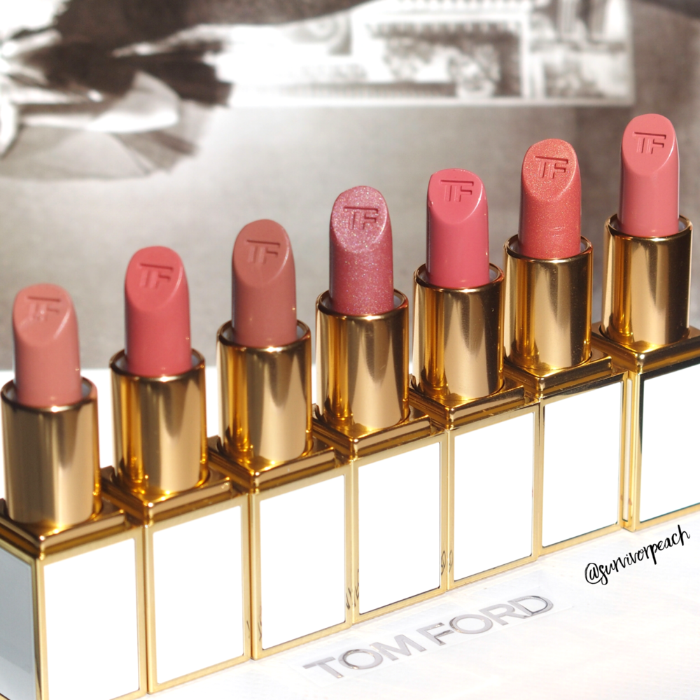 Tom Ford Lips and Girls in Katherine, Zoe, Joan, Ellie, Marisa, Julienne, and Gal
