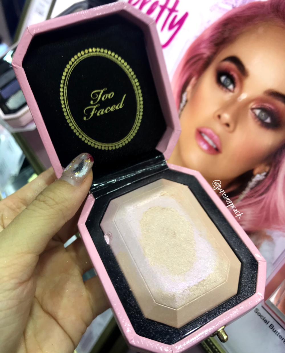 Toofaced Fancy Pink Diamond Highlighter