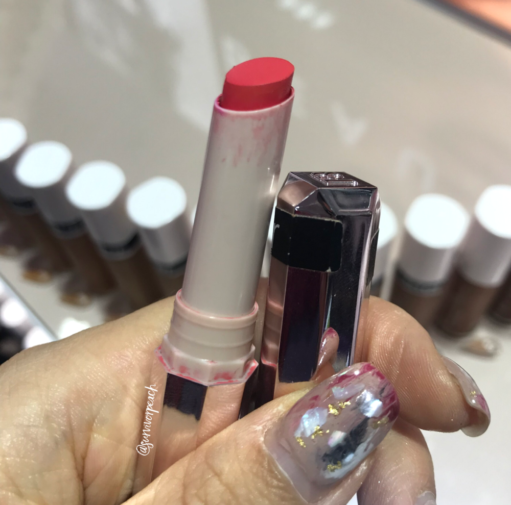 Fenty Beauty Mattemoiselle Plush Matte Lipstick in shade Dragon Mami