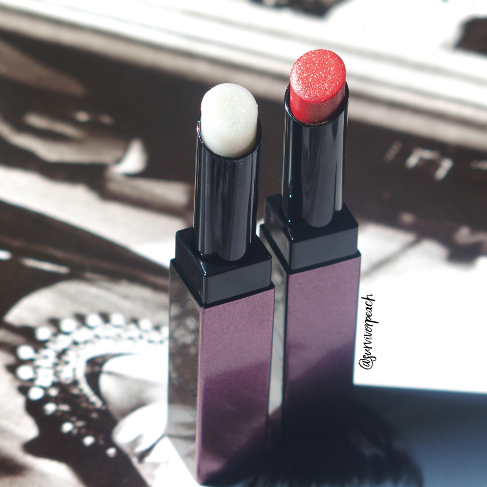 Surratt Prismatique Lips in shades Diamantee and Haute Monde.