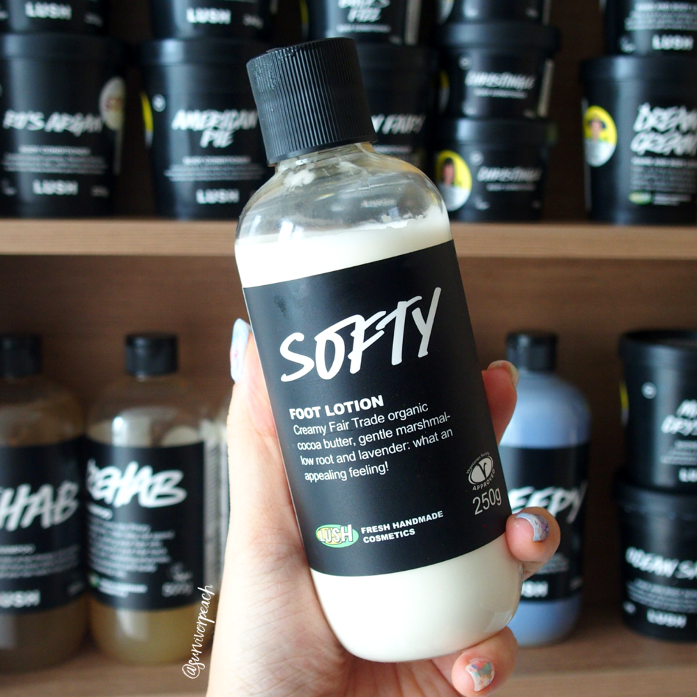 Lush Softy Foot Lotion