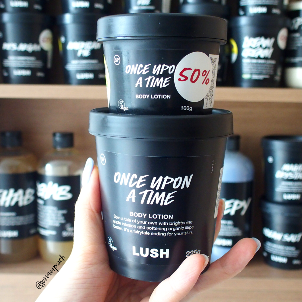 Lush Once Upon A Time Body Lotion