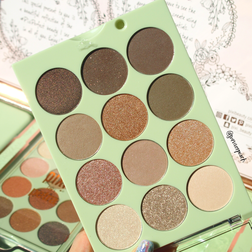 Pixi by Petra Eye Reflections Shadow palettes - Natural Beauty