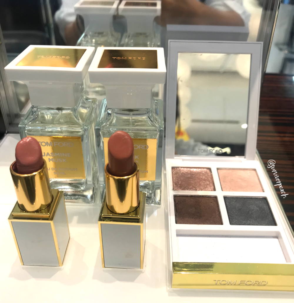 Tomford White Suede Collection 2019