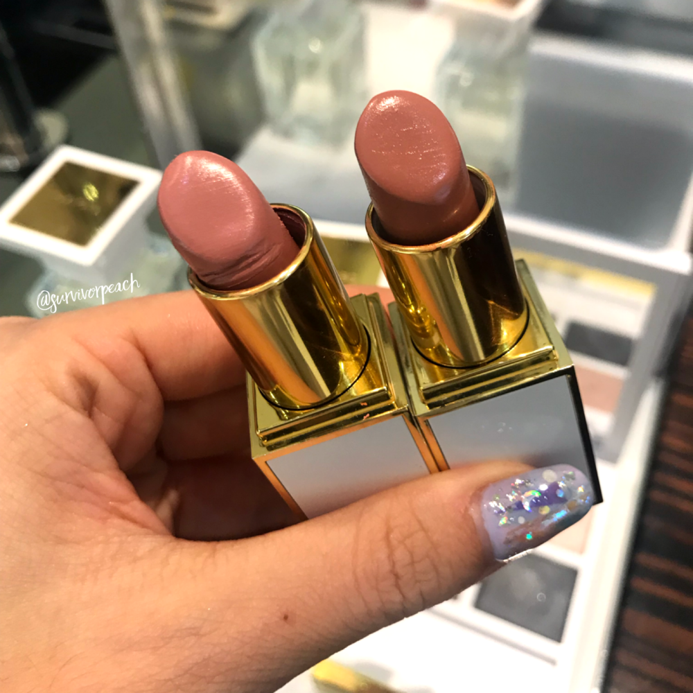 Tom Ford Lipstick in Jasmine Musk and Musk Pure