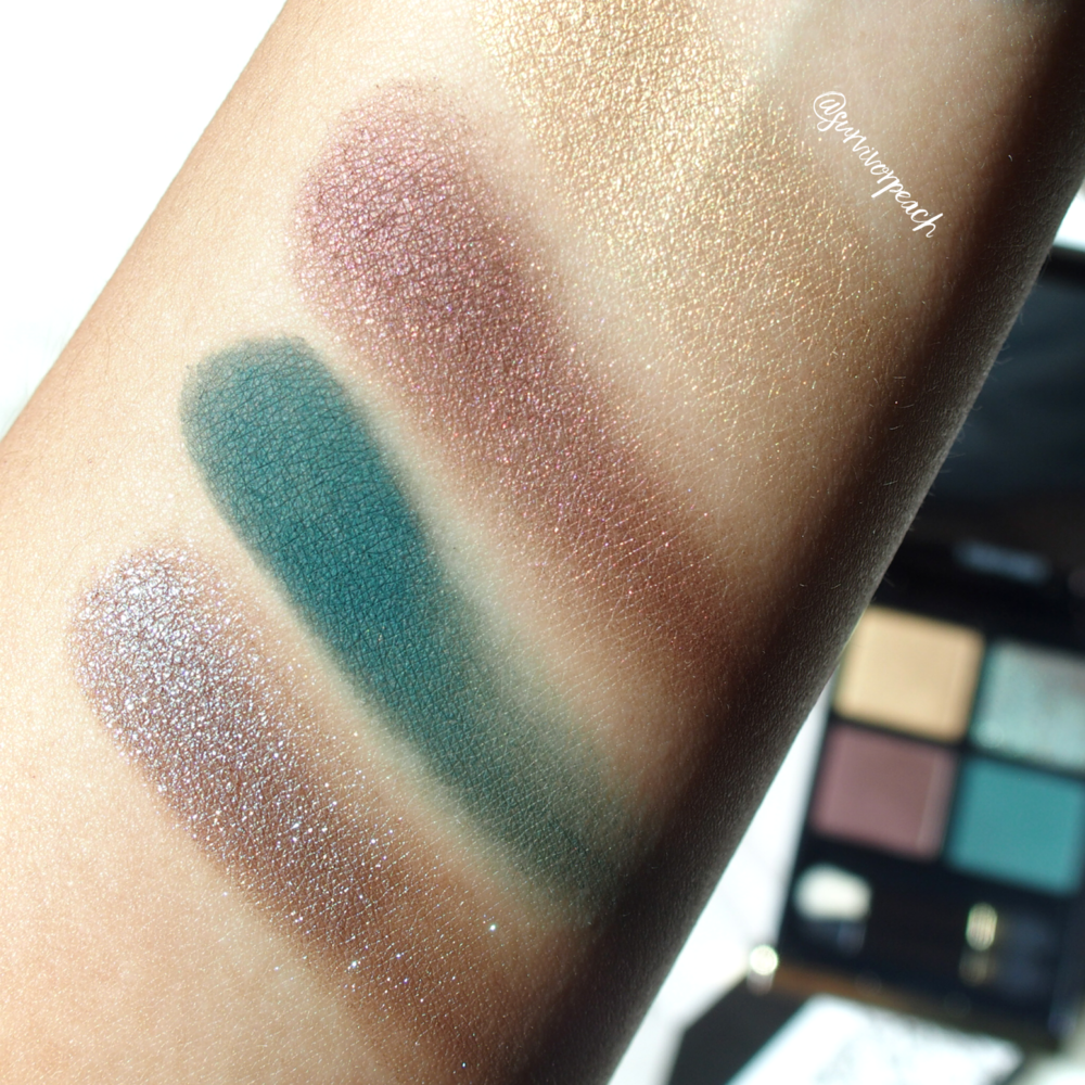 Tomford Photosynthesex Eye Quad swatches
