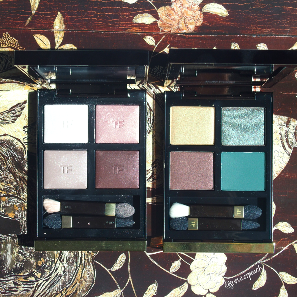 Tomford Photosynthesex and Virgin Orchid Eye Quads