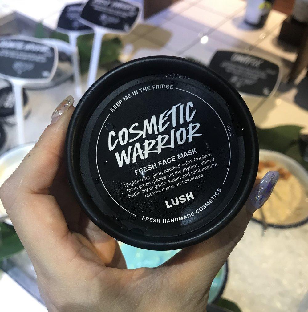 Lush Cosmetic Warrior Fresh Face Mask