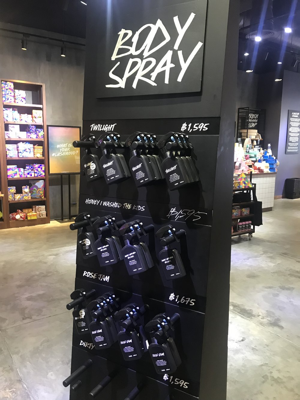 Lush Body Sprays