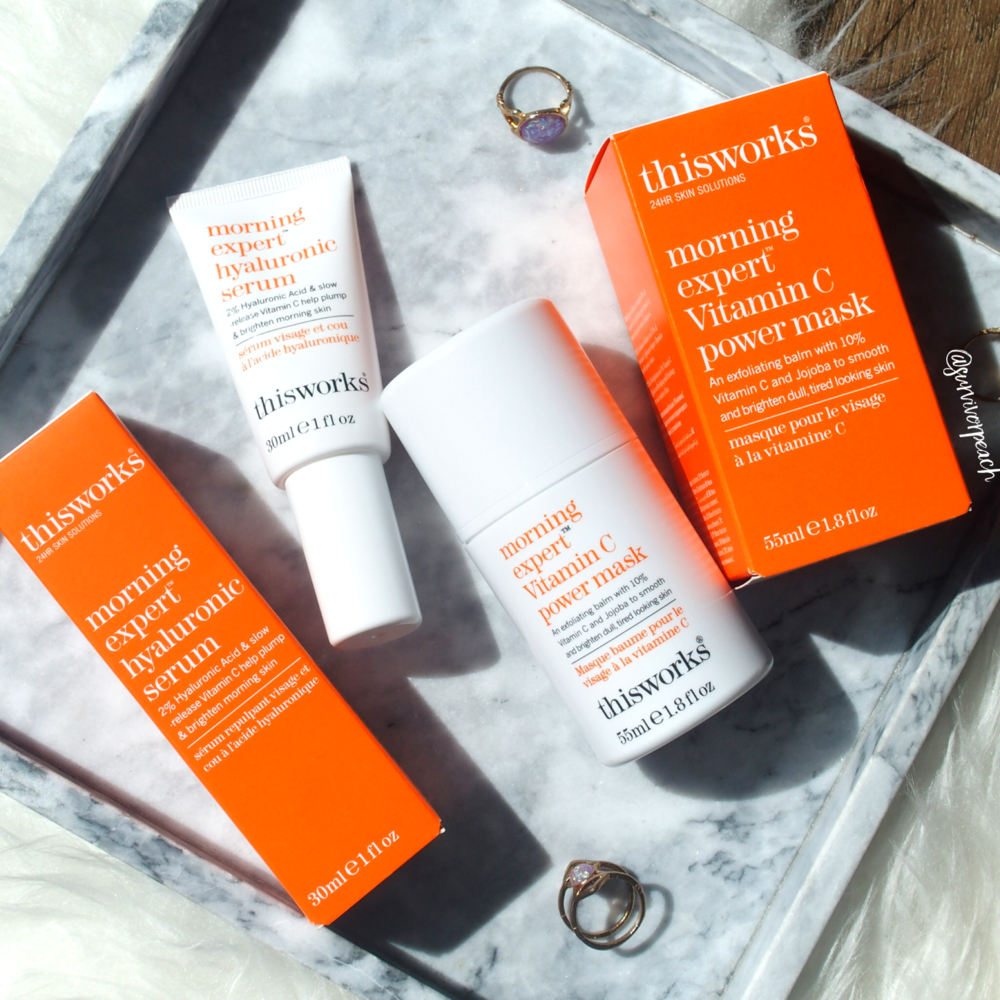 This Works Morning Expert Hyaluronic Serum and Vitamin C Power Mask