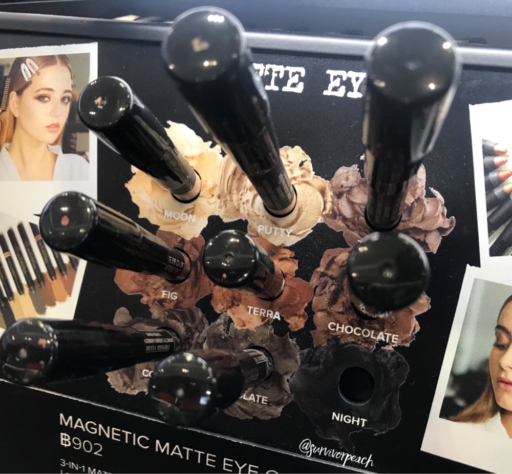 Nudestix Magnetic Matte Eye Pencils